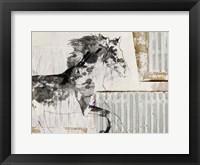 Framed Urban Horse