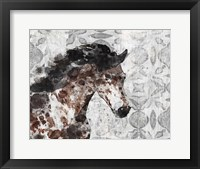 Framed Running Wild Horse 8