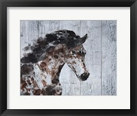 Framed Running Wild Horse 9