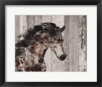 Framed Running Wild Horse 12