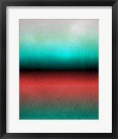 Framed Abstract Minimalist Rothko Inspired 01-28