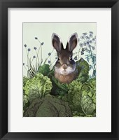 Framed Cabbage Patch Rabbit 4