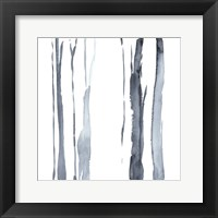 Snow Line I Framed Print