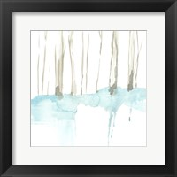 Snow Line II Framed Print
