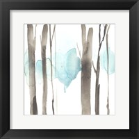 Snow Line V Framed Print