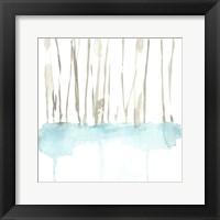 Snow Line VII Framed Print