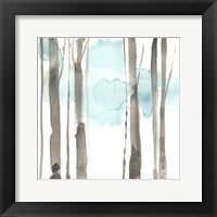 Snow Line IX Framed Print