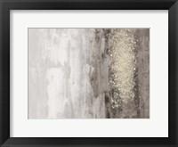 Framed Glitter Rain I