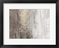 Framed Glitter Rain II