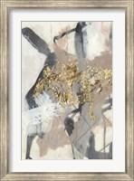 Framed Golden Blush I