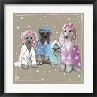 Framed Fancypants Wacky Dogs I