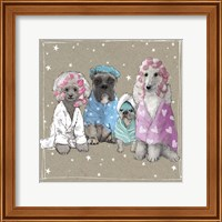 Framed Fancypants Wacky Dogs I