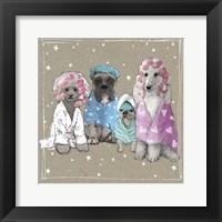Fancypants Wacky Dogs I Framed Print