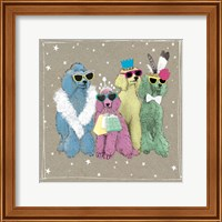 Framed Fancypants Wacky Dogs II