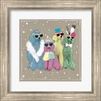 Framed Fancypants Wacky Dogs II