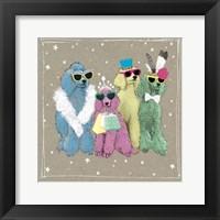 Fancypants Wacky Dogs II Framed Print