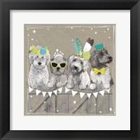 Fancypants Wacky Dogs III Framed Print