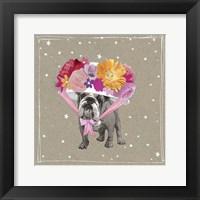 Fancypants Wacky Dogs IV Framed Print