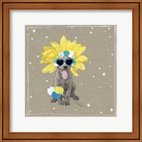 Framed Fancypants Wacky Dogs VI