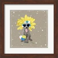 Framed Fancypants Wacky Dogs VI