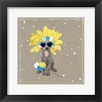 Fancypants Wacky Dogs VI Framed Print