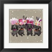 Fancypants Wacky Dogs VII Framed Print