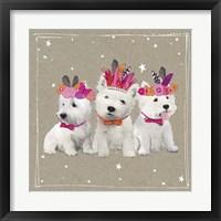 Framed Fancypants Wacky Dogs VIII