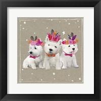 Fancypants Wacky Dogs VIII Framed Print