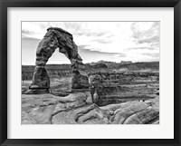 Framed Desert Arches I