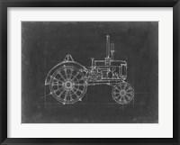 Framed Tractor Blueprint II