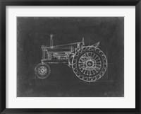 Framed Tractor Blueprint IV