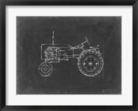 Framed Tractor Blueprint III