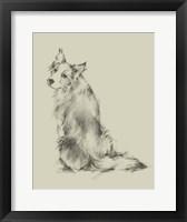 Framed Puppy Dog Eyes VI