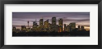 Framed Sydney Skyline