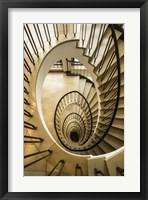Framed Staircase Spiral