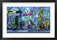 Framed Berlin Wall 2