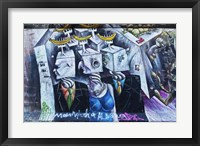 Framed Berlin Wall 8