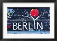 Framed Berlin Wall 16