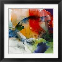 Framed Vibrant Terrain I