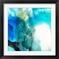 Framed Ephemeral Blue II