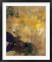 Framed Amber Haze II