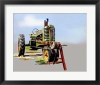 Framed Vintage Tractor V