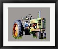 Framed Vintage Tractor VII