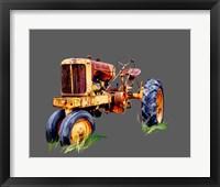 Framed Vintage Tractor IX