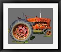 Framed Vintage Tractor XI