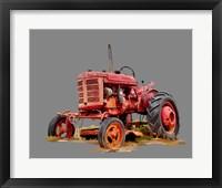 Framed Vintage Tractor XIII