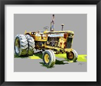 Framed Vintage Tractor XV