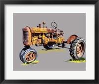 Framed Vintage Tractor XVI