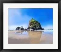 Framed Oregon Coast I