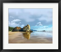 Framed Oregon Coast III